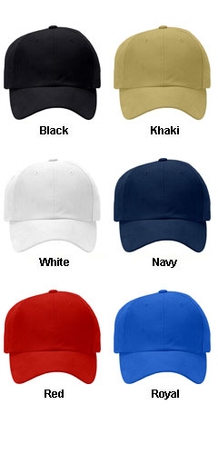 Pro Cotton Cap with Pre-Curved Bill - All Colors