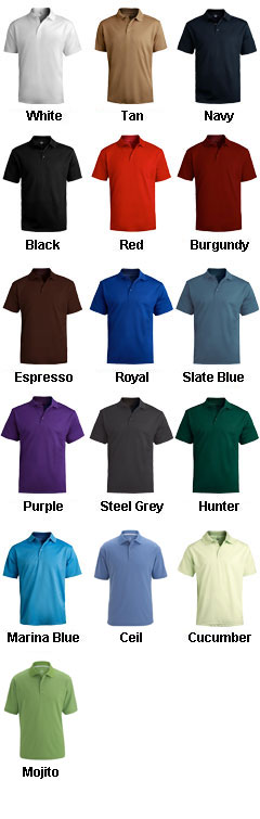 Dry-Mesh High-Performance Polo - All Colors