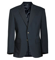 Custom Edwards® Mens Single-Breasted Polyester Blazer