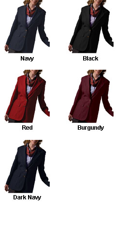 Ladies Single Breasted Polyester Blazer - All Colors
