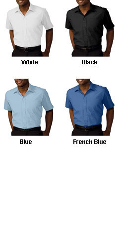 Mens Security Broadcloth Value Short Sleeve Shirt - All Colors