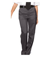 Custom Ladies Flat Front Security Pant