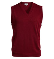 Custom Edwards Adult V-Neck Sweater Vest
