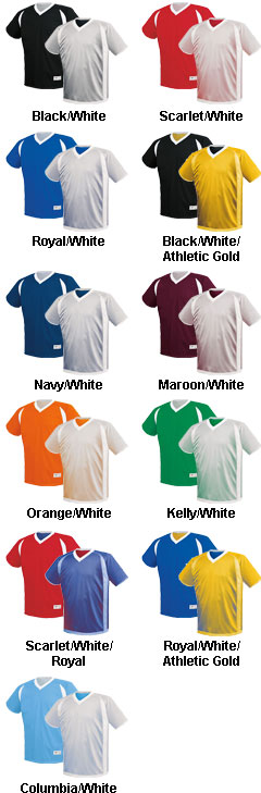 Adult Dynamic Reversible Performance Jersey - All Colors