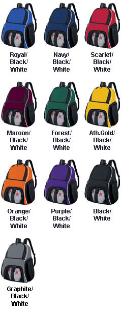 Sport Backpack with Ball Compartment - All Colors