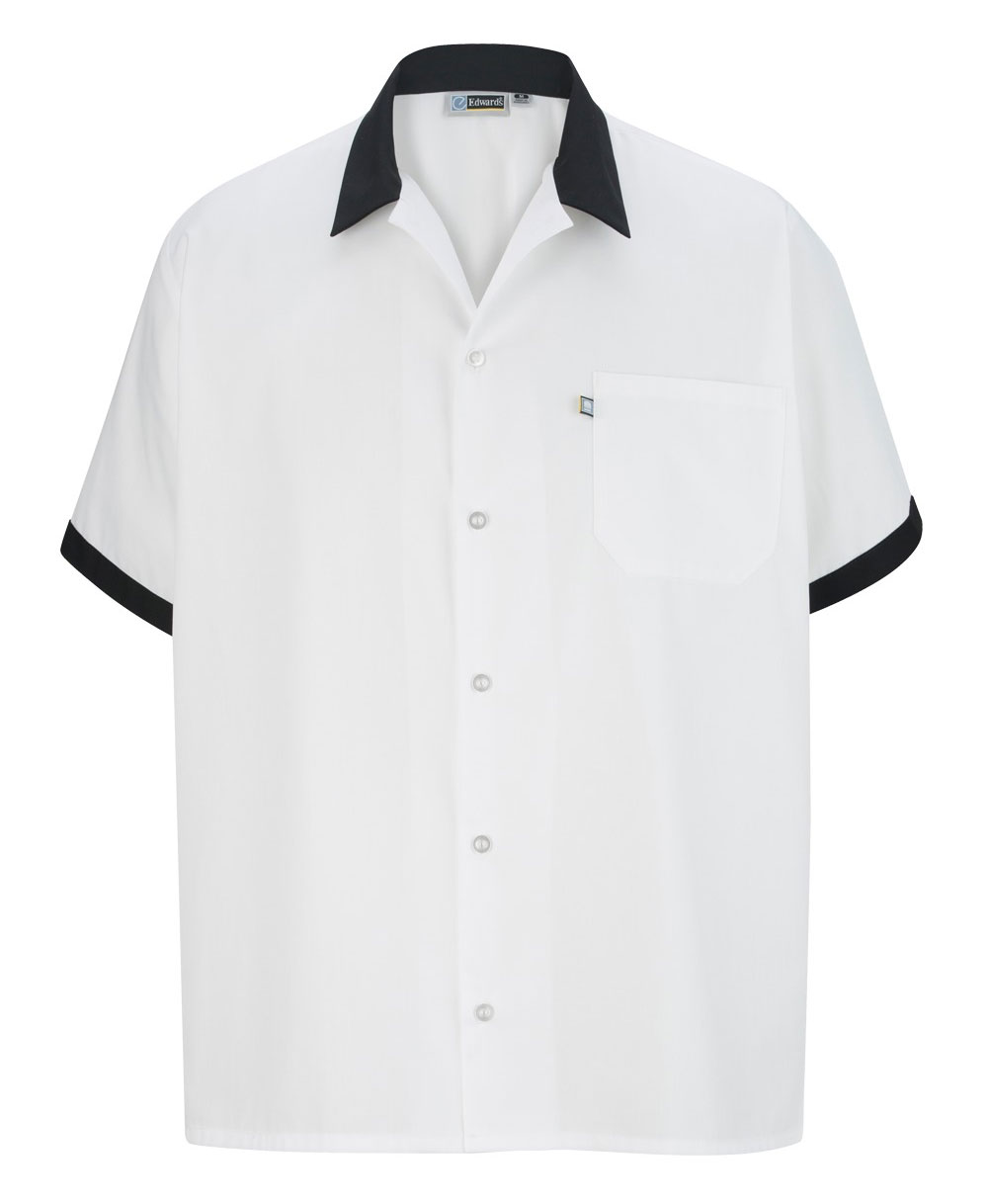 Unisex Bistro Cook Shirt by Edwards Garment