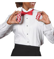 Custom Edwards® Ladies Tuxedo Shirt