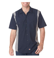 Custom Dickies Adult Industrial Color Block Shirt Mens