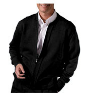 Custom Adult Full Zip Cardigan With Two Pockets