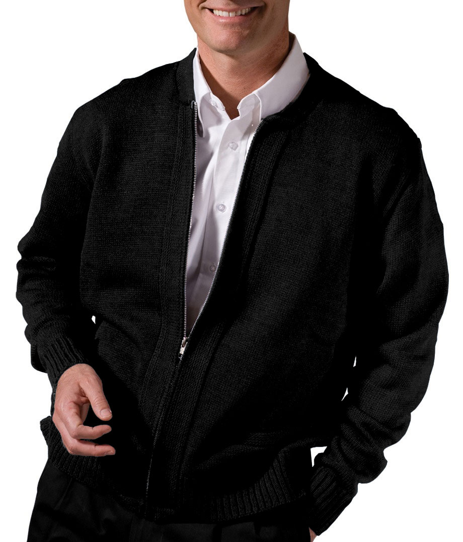 Adult Full Zip Cardigan With Two Pockets