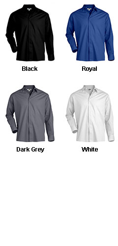 Mens Cafe Long Sleeve Shirt - All Colors