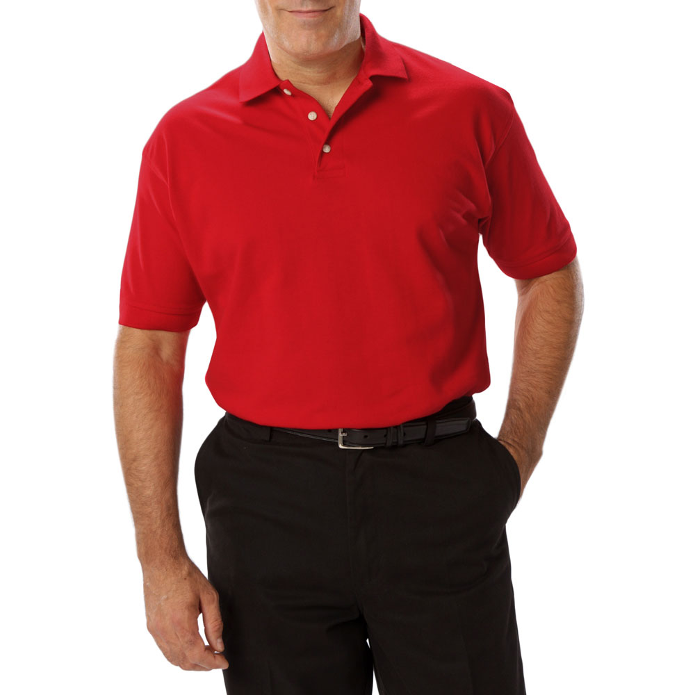Design Mens Short Sleeve Superblend Polo In Tall Sizes