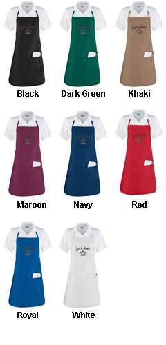 Apron With Adjustable Neck Loop and Waist Ties - All Colors
