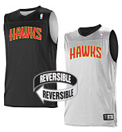 Custom Team NBA Atlanta Hawks Adult Reversible Jersey