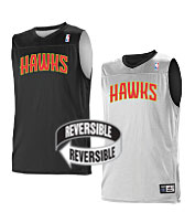 Custom Team NBA Atlanta Hawks Youth Reversible Jersey