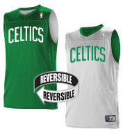 Custom Team NBA Boston Celtics Adult Reversible Jersey