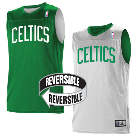 promo code ef08b d16c5 Team NBA Boston Celtics Youth Reversible Jersey