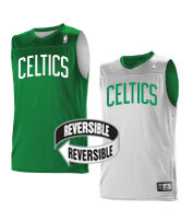 Custom Team NBA Boston Celtics Youth Reversible Jersey