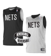 Custom Team NBA Brooklyn Nets Youth Reversible Jersey
