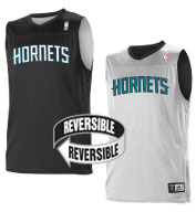 Custom Team NBA Charlotte Hornets Adult Reversible Jersey