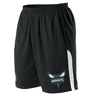 Custom Team NBA Charlotte Hornets Adult Shorts