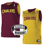 Team NBA Cleveland Cavaliers Adult Reversible Jersey