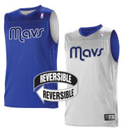 Custom Team NBA Dallas Mavericks Adult Reversible Jersey