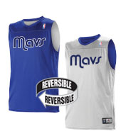Custom Team NBA Dallas Mavericks Youth Reversible Jersey