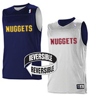 Team NBA Denver Nuggets Adult Reversible Jersey