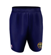 Custom Team NBA Denver Nuggets Youth Shorts