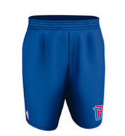 Custom Team NBA Detroit Pistons Youth Shorts