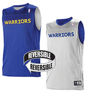 Custom Team NBA Golden State Warriors Adult Reversible Jersey