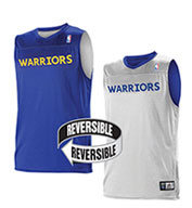 Custom Alleson Youth NBA Golden State Warriors Reversible Jersey