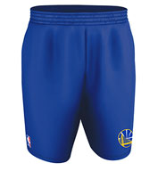 Custom Team NBA Golden State Warriors Adult Shorts