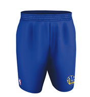 Custom Team NBA Golden State Warriors Youth Shorts