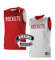 Custom Team NBA Houston Rockets Youth Reversible Jersey