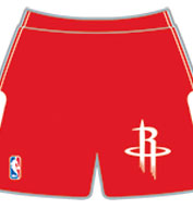 Custom Team NBA Houston Rockets Adult Shorts