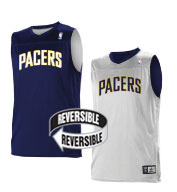 Custom Team NBA Indiana Pacers Youth Reversible Jersey