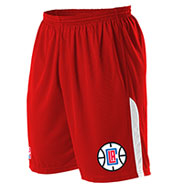 Custom Team NBA Los Angeles Clippers Adult Shorts