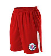Custom Team NBA Los Angeles Clippers Youth Shorts