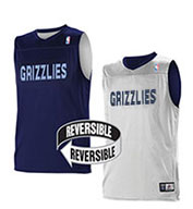 Custom Team NBA Memphis Grizzlies Youth Reversible Jersey