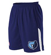 Custom Team NBA Memphis Grizzlies Adult Shorts
