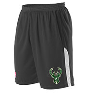 Custom Alleson Adult NBA Milwaukee Bucks Shorts