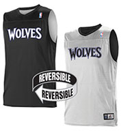 Custom Team NBA Minnesota Timberwolves Adult Reversible Jersey