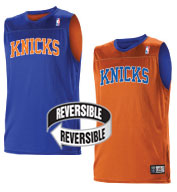 Custom Team NBA New York Knicks Adult Reversible Jersey