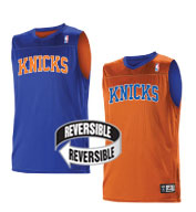 Custom Alleson Youth NBA New York Knicks Reversible Jersey