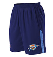 Custom Team NBA Oklahoma City Thunder Adult Shorts