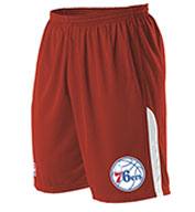 Custom Team NBA Philadelphia 76ers Adult Shorts