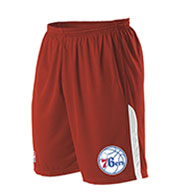 Custom Team NBA Philadelphia 76ers Youth Shorts