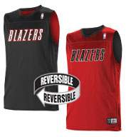 Custom Team NBA Portland Trailblazers Adult Reversible Jersey